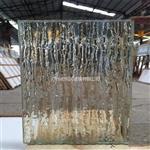 广州同民热销款热熔钢化玻璃 肌理热熔玻璃