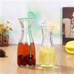 徐州嘉隆玻璃冰桔茶瓶饮料果汁冷泡茶瓶350ml 500ml