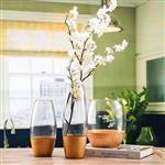 花瓶  玻璃瓶喷色玻璃瓶
