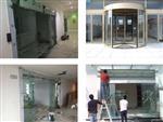 南京玻璃感应门-指纹机门