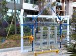广州佛山汽车4S店吊挂幕墙高清钢化玻璃 19mm厚