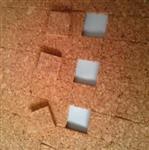 厂家直供高品质玻璃软木垫PVC软木垫1.5+1mm包运费