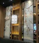 艺术夹丝玻璃夹胶铜网钢网安全防盗玻璃金属网夹层玻璃