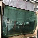 东莞弯钢玻璃厂家定制加工 10mm烤弯玻璃 中空弯钢玻璃