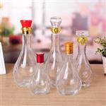 玻璃白酒瓶100ml125ml250ml500ml