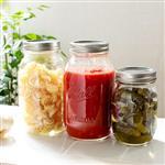 玻璃瓶梅森瓶梅森罐蔬菜水果沙拉包装瓶