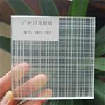 广州同民夹丝玻璃 屏风隔断夹丝玻璃 移门夹丝钢化玻璃
