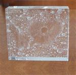 广州卓越透明气泡实心玻璃砖