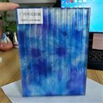广州同民背景墙夹丝玻璃 特色条纹夹丝玻璃 移门夹丝玻璃