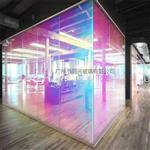 炫彩玻璃 6厘钢化炫彩玻璃户外幕墙炫彩玻璃