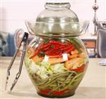 玻璃泡菜坛,泡酒坛,加厚腌菜坛子,玻璃泡菜坛子 高白料泡菜坛