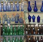 500ml绿色 深蓝色 茶色 白酒玻璃瓶 蓝宝石酒瓶翠绿色白酒瓶定做