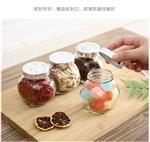 家用玻璃密封罐带盖透明厨房收纳罐防潮食品储物罐茶叶罐