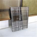 订制高端精美豪华工艺夹绢丝玻璃 醒目实用装饰夹丝玻璃厂家直销