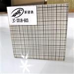 安全防爆绢网夹胶装饰玻璃 极尽奢华特色创意夹丝玻璃订做