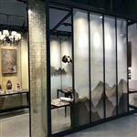 夹丝夹绢背景墙玻璃屏风玻璃供应