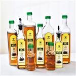 油瓶油壶玻璃透明防漏家用大号调料酱油香油醋瓶罐套装厨房用品