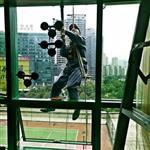 上海外墙玻璃漏水维修 外墙玻璃打胶防水 更换高楼外墙玻璃