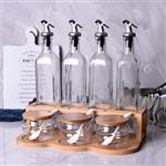 大号厨房家用酱油控油醋瓶调味料瓶套装批发