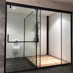 T型浴室钢化玻璃
