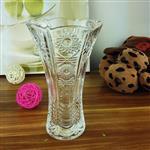 透明水帘太阳花瓶 欧式玻璃花瓶机械花瓶批发爆款25SLTY