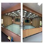 单向透视玻璃微格教室专用单反玻璃单面透光玻璃