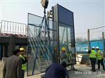 19mm厚玻璃、商场4S店10米高吊挂钢化玻璃