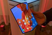 折叠屏+5G 华为Mate X放大招震惊业界