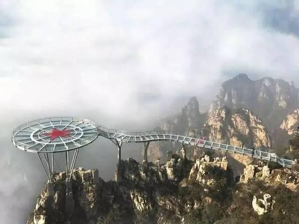 河北7处高空玻璃栈道,堪称世界第一高空玻璃桥
